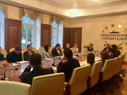 Экспертный совет НОСТРОЙ провел очередное заседание в Санкт-Петербурге
