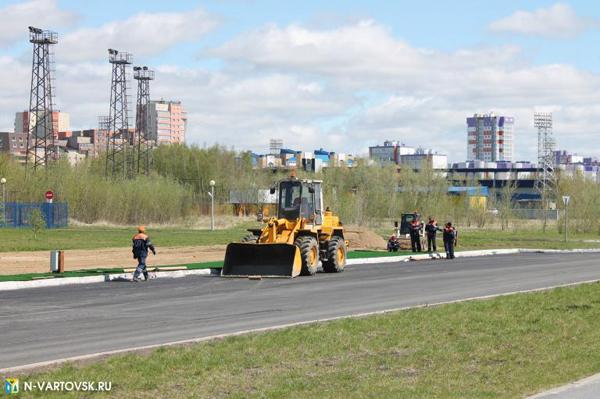 Гарантию даю. В Нижневартовске идет первая в регионе дорожная стройка с применением КЖЦ