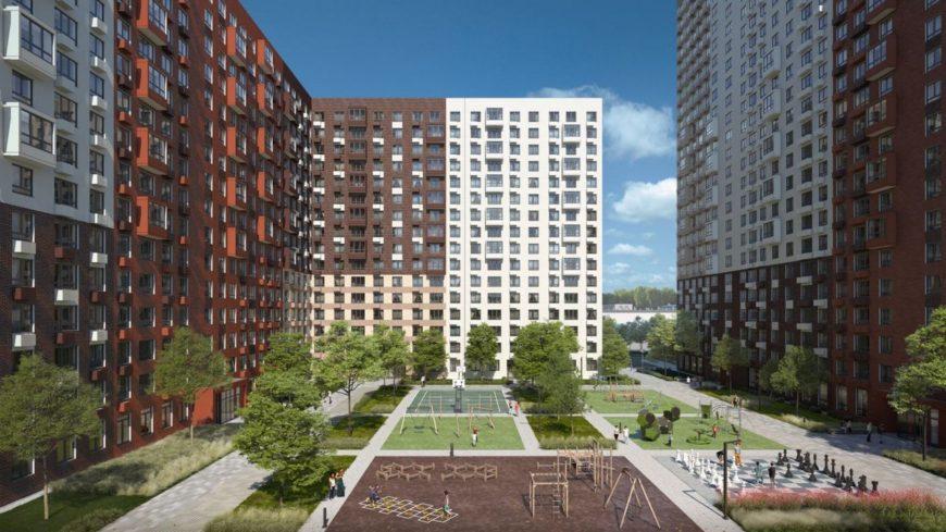 Стартовал I ежегодный градостроительный конкурс жилых комплексов—новостроек