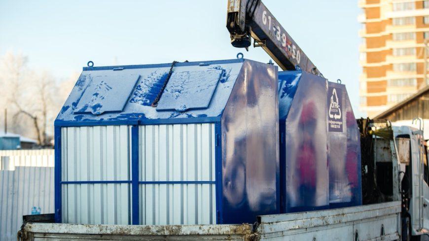 За год в Югре обустроили более 1 200 новых контейнерных площадок