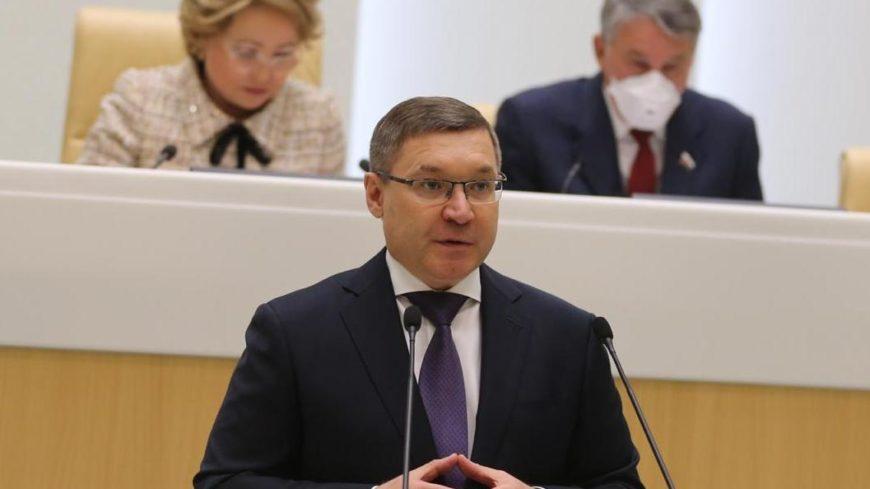 Глава Минстроя России доложил в Совете Федерации об исполнении федеральных проектов и мерах, принятых для поддержки отрасли