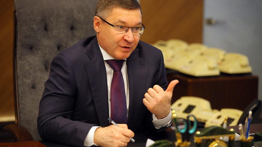 Глава минстроя Владимир Якушев - о самочувствии жильцов, застройщиков и ЖКХ