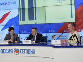 Ирек Файзуллин выступил на пресс-конференции, посвященной старту III Российской молодежной архитектурной биеннале