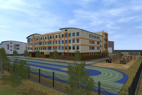 Строительство школ в Ханты-Мансийске ведется по графику