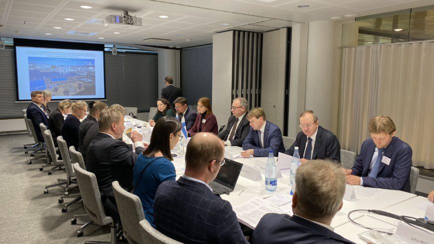 В Хельсинки прошло заседание российско-финляндской рабочей группы по строительству