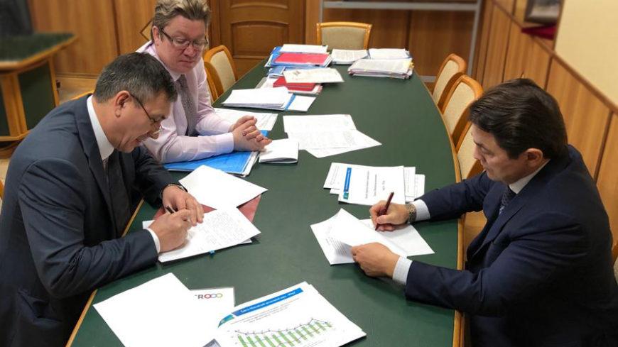 Подписано соглашение, направленное на снижение и профилактику производственного травматизма в организациях строительного комплекса в Югре