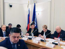 Михаил Посохин принял участие в заседании Экспертного совета в Государственной Думе
